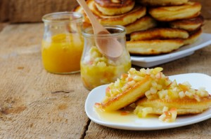 Chai and Apple Grain Free Pancakes