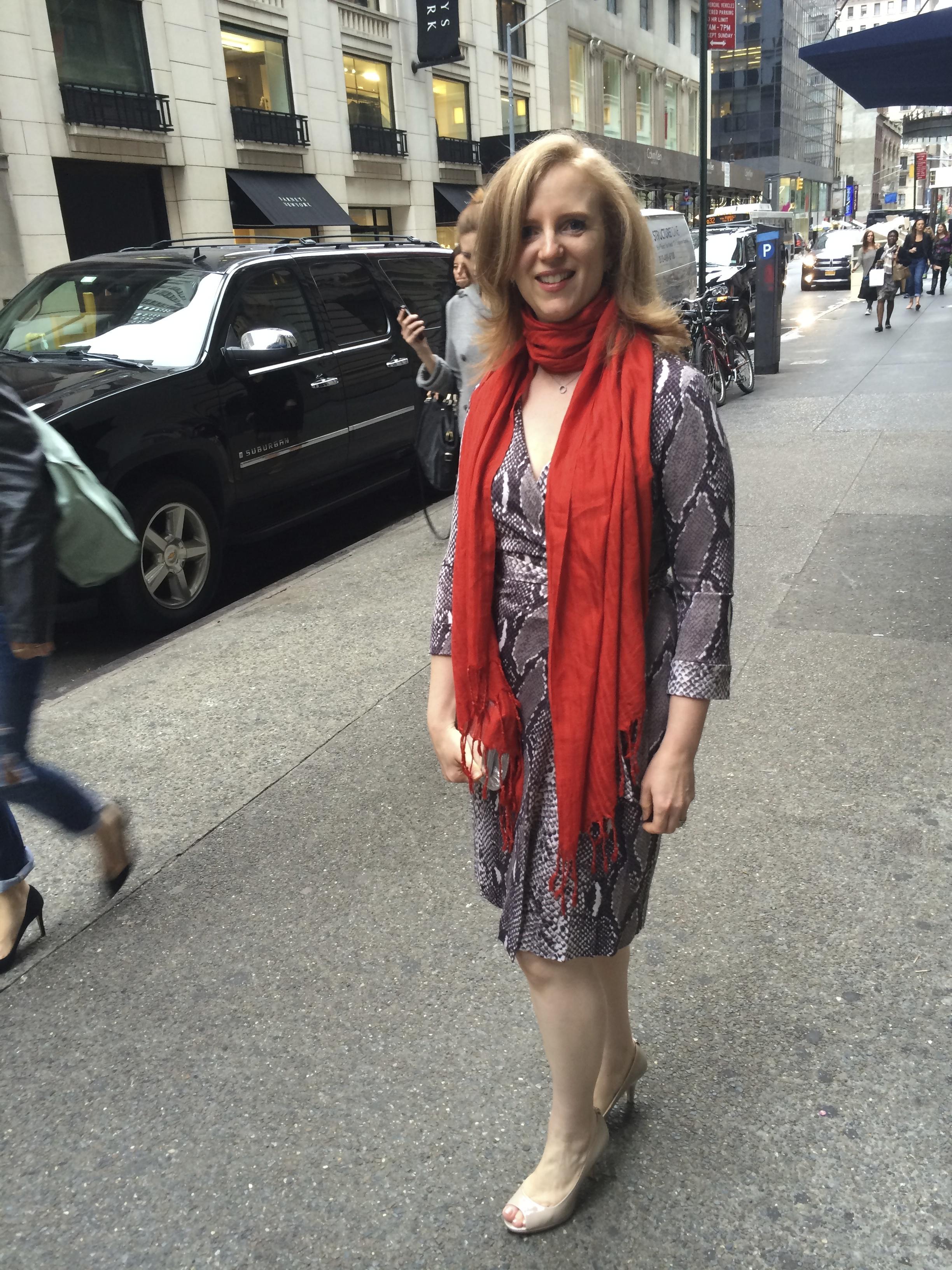 "Maria Rickert Hong heading into ""An Evening of Inspiration"""