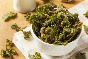 Dairy-Free Cheesy Kale Chips