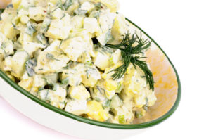 Vegan Potato Salad with Dill